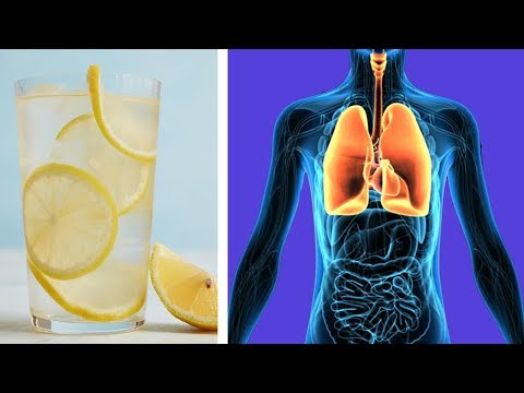 The Effects Of Drinking Lemon Water Daily