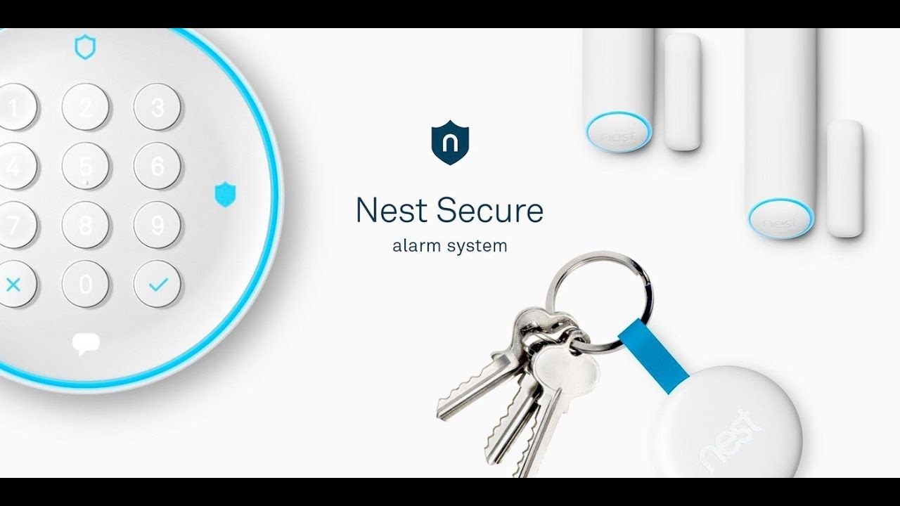 nest secure alarm system review home automation systems youtube. Black Bedroom Furniture Sets. Home Design Ideas