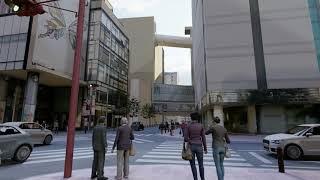 CGで福岡の街を再現 [ SketchUp + Lumion ]