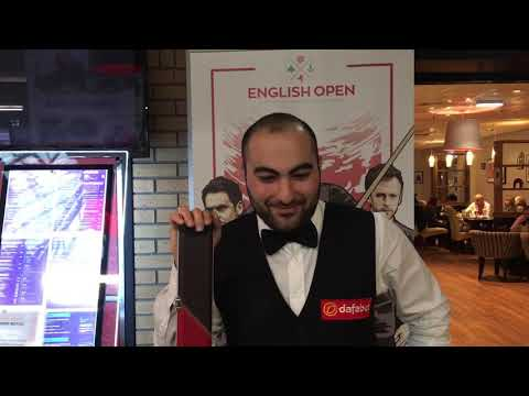 Interview with Hossein Vafei Ayouri after his victory over Stuart Bingham | Dafabet English Open