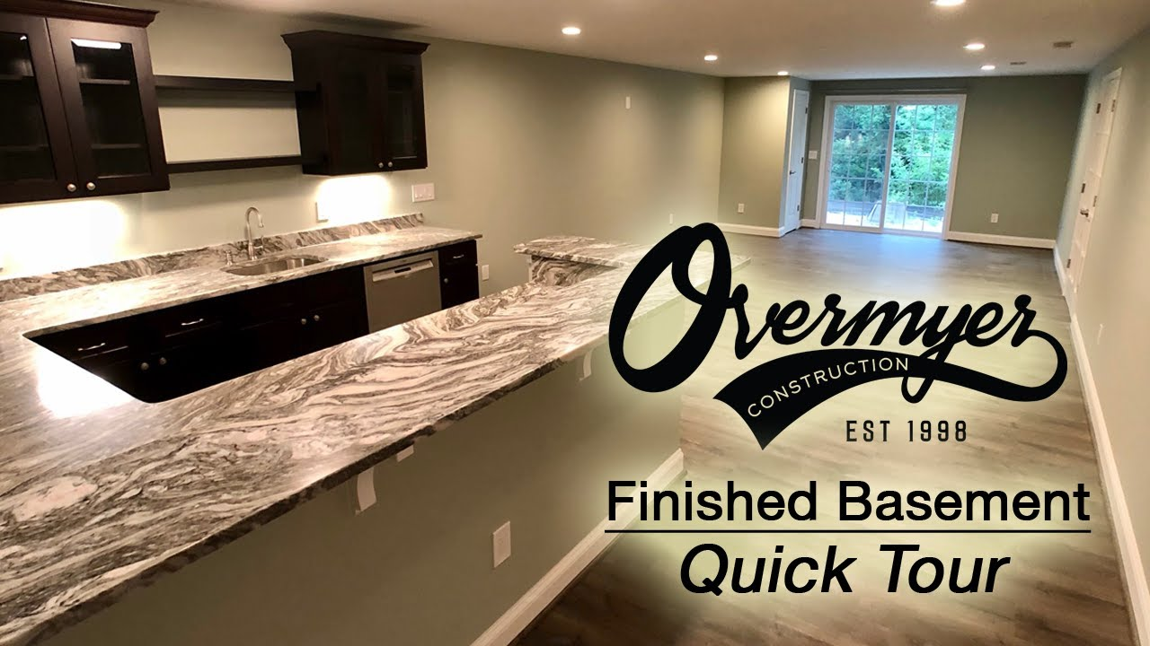 Tour Of A Northville Finished Basement Project 2019
