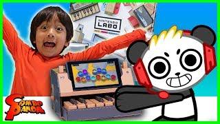 Nintendo Labo Piano Toy Cardboard Craft Let