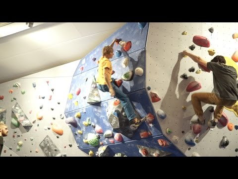 Having A Session With Alex Megos And Jimmy Webb - Vlog 24