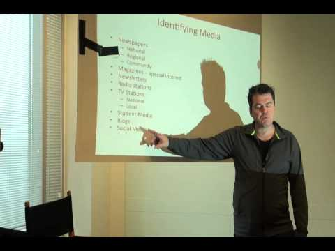 SELP MEDIA TRAINING Part 3 : Andy Walker
