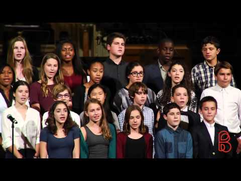 Bank Street School for Children 13s/14s Chorus