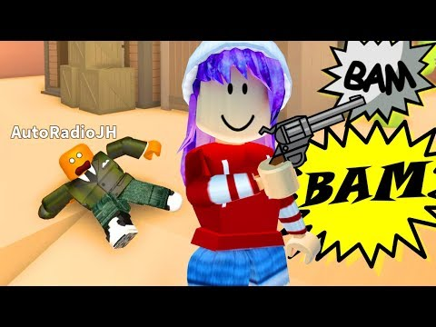 I KILLED MY BROTHER IN ROBLOX WILD REVOLVER!!! 🤠