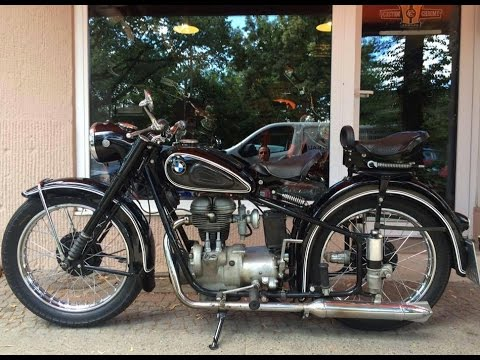 potsdam germany motorcycle touring on 1952 bmw r25 2 youtube. Black Bedroom Furniture Sets. Home Design Ideas