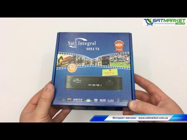 Видео обзор Sat-Integral 5051 T2