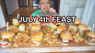 How to cook a JULY 4th FEAST