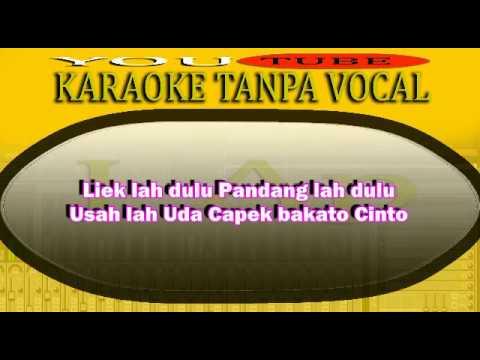 Karaoke Minang CINTO BABUHUA MATI ( MIX ) J-Ap