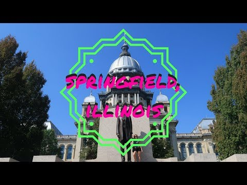 THINGS TO DO SPRINGFIELD, ILLINOIS | USA TRAVEL VLOG