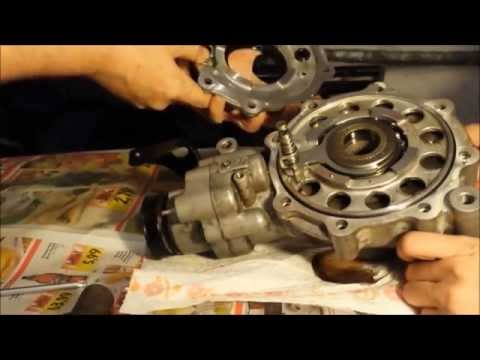 Arctic Cat Front Diff Disassemble