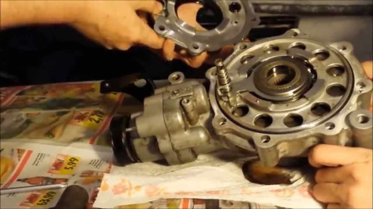 Arctic Cat Front Diff Disassemble Youtube