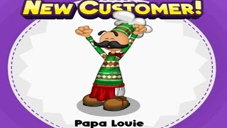 Papa's Bakeria: Unlocking Papa Louie + Full Parade Cutscene