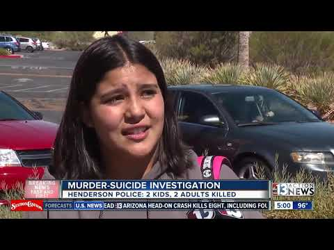 2 adults, 2 kids dead in apparent Henderson murder-suicide