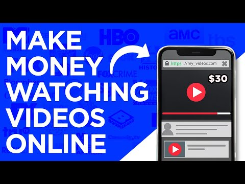 Earn $30 Per Hour WATCHING VIDEOS | Make Money Online