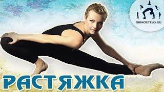 Растяжка для начинающих на каждый день / Стретчинг(Комплекс упражнений, направленный на развитие гибкости тела, вытяжение позвоночника, растяжку мышц спины..., 2013-04-10T21:33:52.000Z)