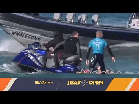 Shark Attacks Mick Fanning at the J-Bay Open 2015