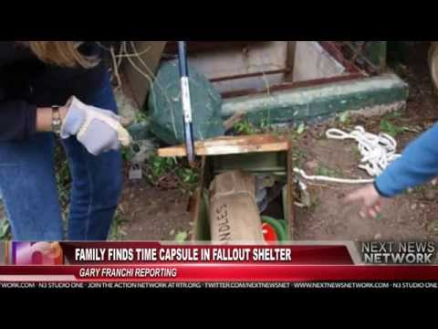 Family Finds Time Capsule in Fallout Shelter