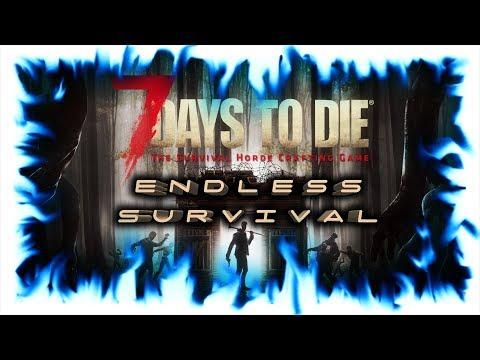 7 Days to Die #20 Судная ночь в новом доме!
