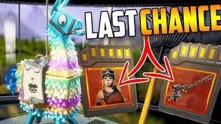 Birthday LLAMA Opening - LAST CHANCE for RENGADE RAIDER & RARE ITEMS! Fortnite Save The World