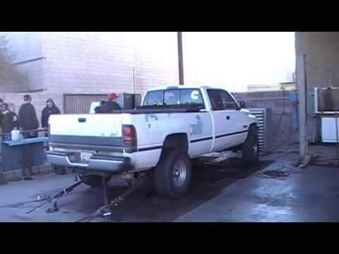 '96 12-Valve Cummins Powered Dodge Ram On The Dyno