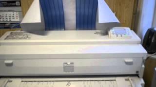 Ricoh Aficio 2470 скорость печати А1(Минипрезентация скорости печати формата А1 (стандартная рамка Компас) с момента получения данных до выхода..., 2014-02-20T16:04:53.000Z)