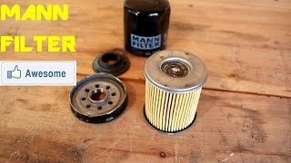Mann Oil Filter - What's Inside...?