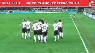 Nordirland - Österreich // Northern Ireland - Austria 1:2, 18.11.2018 (Hurricanes)