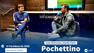 DIRECTO   Entrevista a Mauricio Pochettino, entrenador del PSG, en #PartidazoCOPE