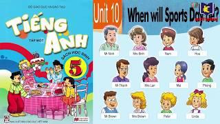 Trọn bộ bài hát tiếng Anh lớp 5 - English 5 songs