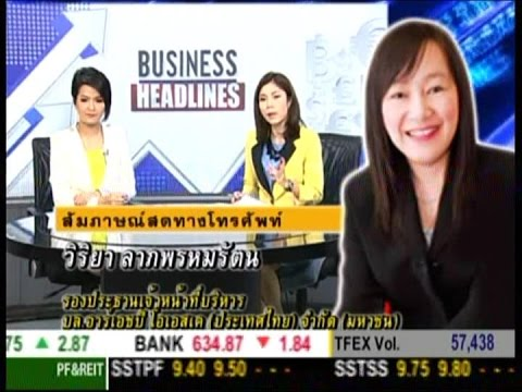 Business Headlines ช่วงที่2 ภาพรวมตลาดหุ้นไทย