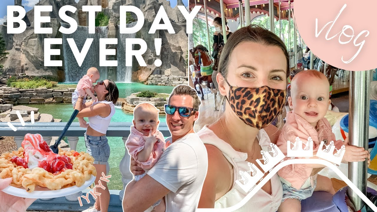 BEST DAY EVER   Baby's First Amusement Park + Healthy Dinner Recipe!