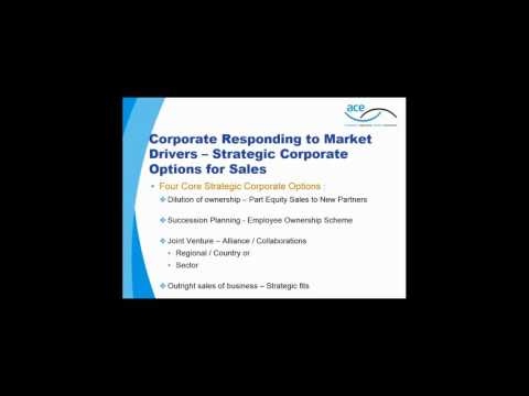Beale & Company Webinar: Mergers & Acquisitions - Selling the Business