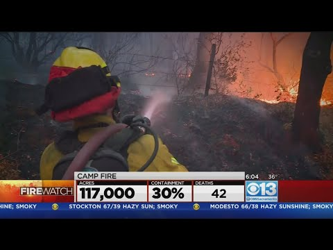Fight Against California's Deadliest Fire Continues