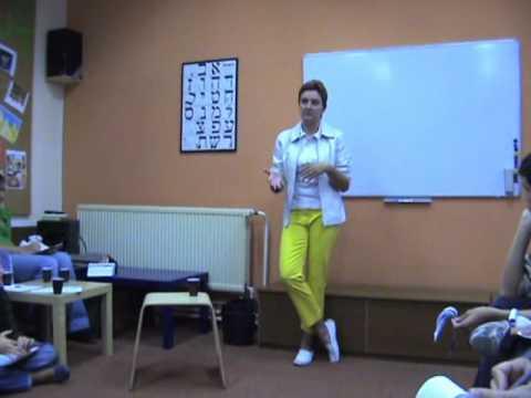 hybaskova  against the withdrawal from Gaza