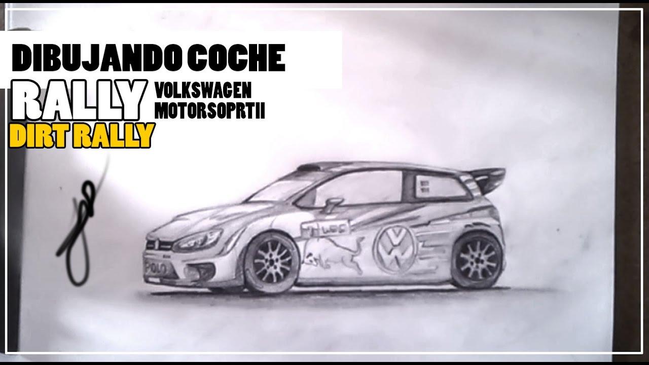 Dibujando un coche Rally / Draw Rally Car   YouTube
