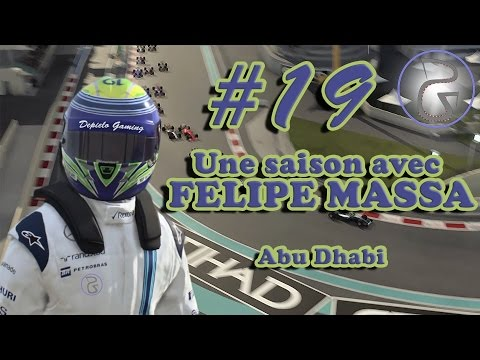 F1 2015 (FR) - Carrière Felipe Massa - Abu Dhabi