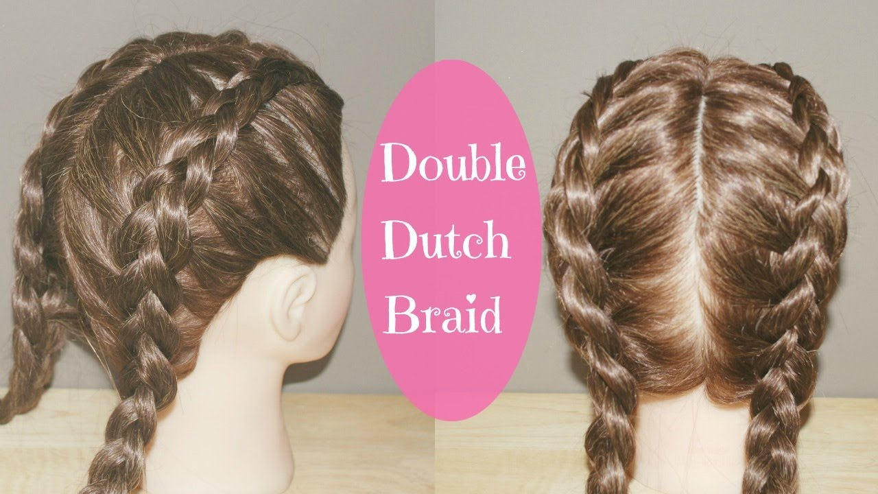 ab491e252 How to Double Dutch Braid Tutorial - YouTube