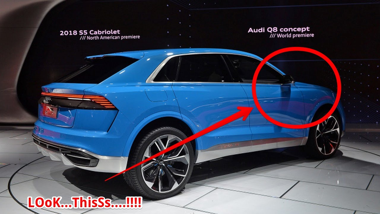 wow amazing audi q8 a hybrid flagship suv coming in 2018 youtube. Black Bedroom Furniture Sets. Home Design Ideas
