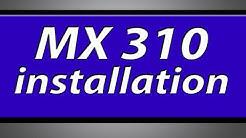 Canon Pixma MX310 printer installation