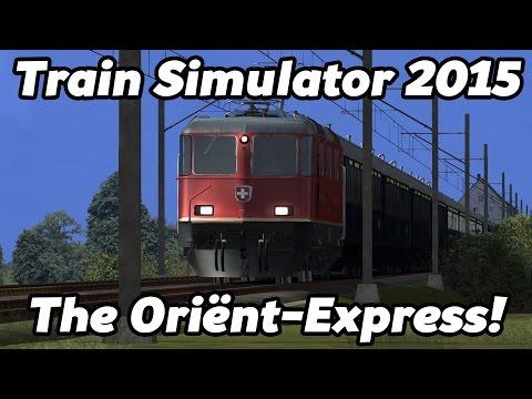 Train Simulator 2015: The Oriënt-Express! [60FPS/[HD]