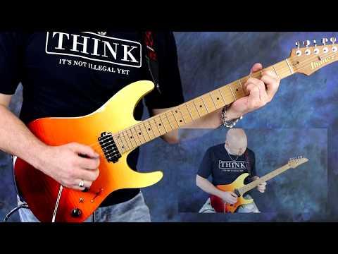 AZ Above - Chris Brooks Feat. The Ibanez AZ242F TSG Guitar, AZ Series