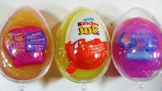 Glitter Putty Surprise Egg Toys Kinder Joy Surprise Egg Disney Finding Dory Squishy Pops MLP