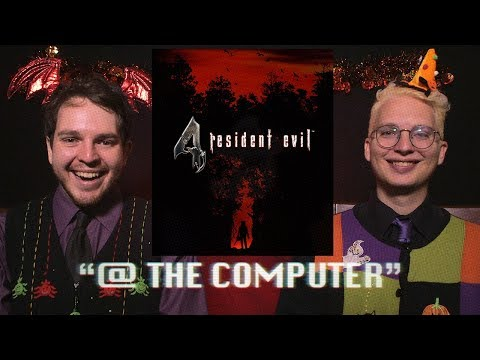 Resident Evil 4 @ The Computer