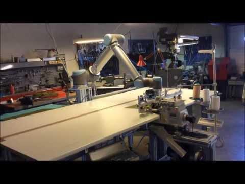 Sewing Robot YouTube Stunning Robotic Sewing Machine