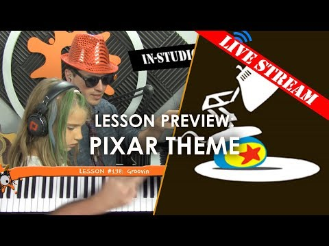 Pixar Theme - Kids' Live Lesson Preview