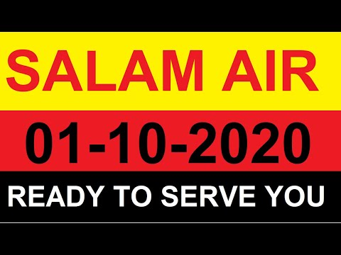 Salam Air Ready to Serve you 01-10-2020 || Emaan Travels Chawinda