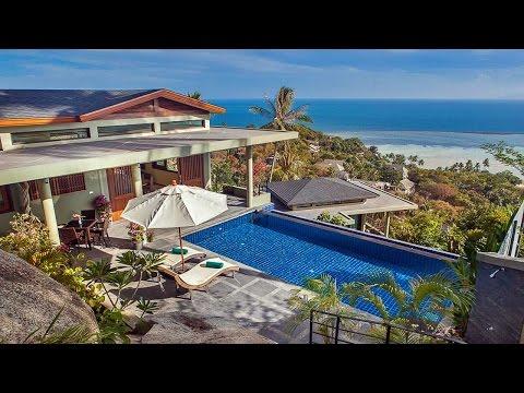 """Holiday """"Villa Crystal"""" on Koh Samui in Thailand"""