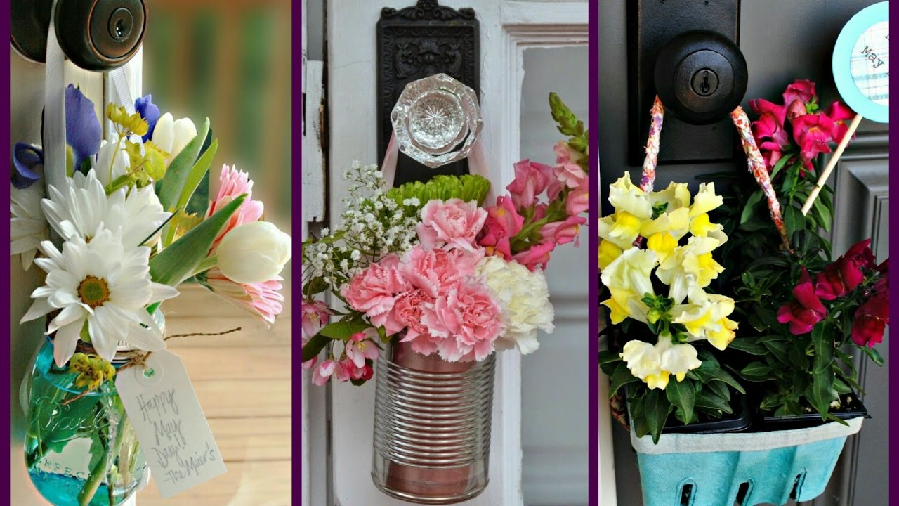 May Day Baskets Ideas Recycled Craft Ideas Spring Decorating